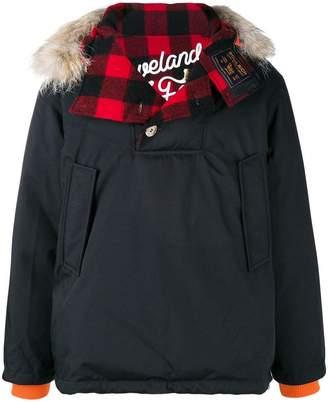 Woolrich X GRIFFIN reversible Atlantic parka-hoodie