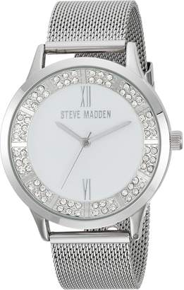 Steve Madden Women's Quartz and Alloy Casual Watch, Color -Toned (Model: SMW089)