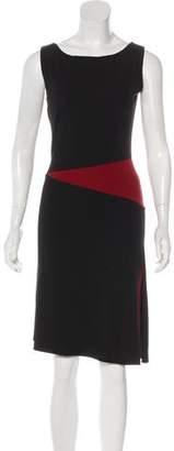 Narciso Rodriguez Sleevless Sheath Dress