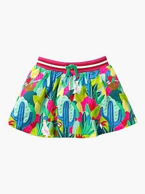 Boden Mini Girls' Jersey Skort, Multi