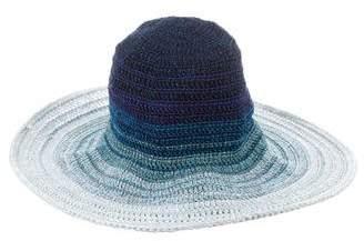 Missoni Knit Wide Brim Hat w/ Tags