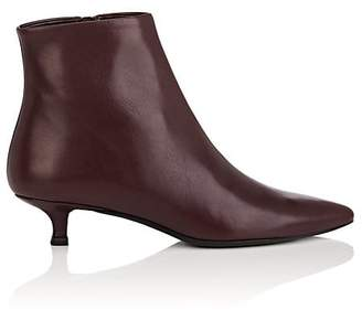 The Row Women's Coco Leather Ankle Boots