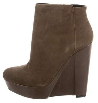 Theory Platform Wedge Boots