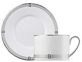 Prouna Prouna Regency Platinum Tea Cup & Saucer