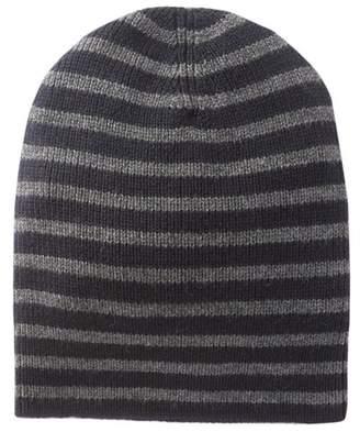 Vince Striped Rib Beanie