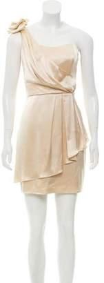 ABS by Allen Schwartz One-Shoulder Mini Dress