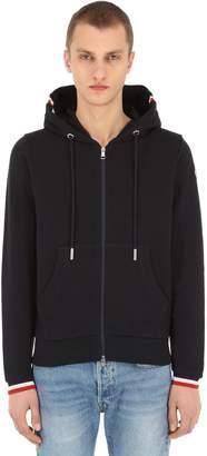 Moncler Full Zip Cotton Sweatshirt Hoodie