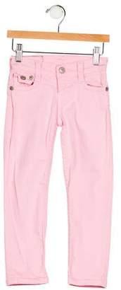 True Religion Girls' Five Pockets Straight-Leg Jeans