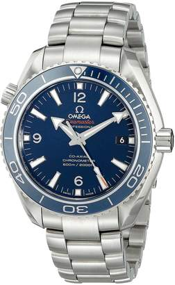 Omega Men's 23290422103001 Analog Display Automatic Self Wind Silver Watch