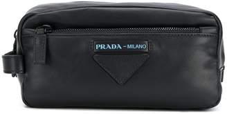 Prada Grace leather wash bag
