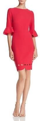 Adelyn Rae Blair Scallop-Hem Dress