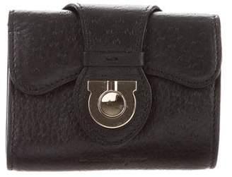 Salvatore Ferragamo Leather Key Pouch