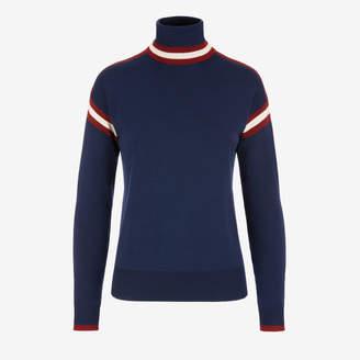 Bally Stripe Roll neck Sweater