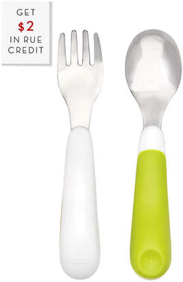OXO Tot On-The-Go Fork And Spoon Set With $2 Rue Credit