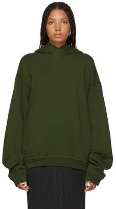 Haider Ackermann SSENSE Exclusive Khaki Perth Hoodie