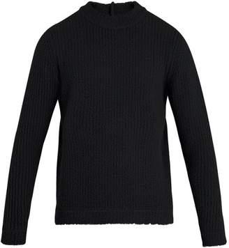 Craig Green Cut-out wool-blend sweater