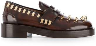 Marni piercing detail loafers