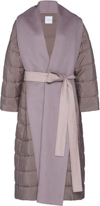 Agnona Zybellin Belted Puffer Coat