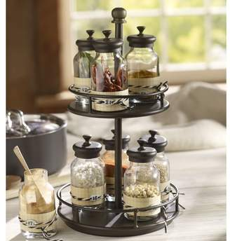 Pottery Barn Rotary Spice Rack