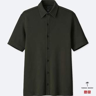 Uniqlo Men's Airism Open Polo Shirt