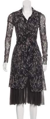 Fuzzi Wrap Overlay Dress