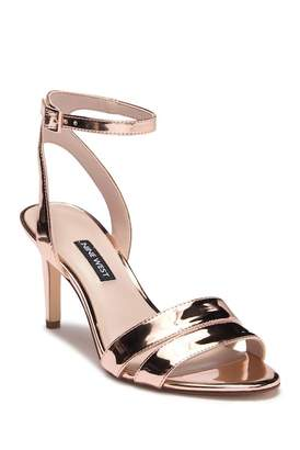Nine West In Check Ankle Strap Sandal