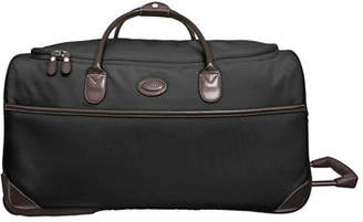 "Bric's Black Pronto 28"" Rolling Duffel Luggage"