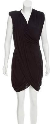 Givenchy Draped Jersey Dress