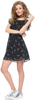 Juicy Couture Tossed Bouquets Woven Dress
