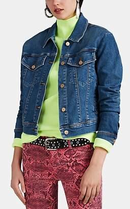 J Brand Women's Harlow Shrunken Denim Jacket - Blue