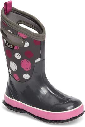 Bogs Classic Sketched Dots Insulated Waterproof Boot