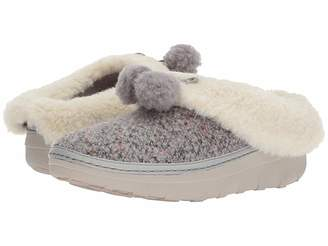 FitFlop Loaff Snug Pom Slippers Women's Slippers