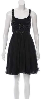 Jenny Packham Silk Embellished Dress w/ Tags