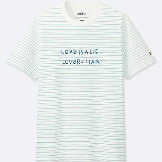 Uniqlo Men's Sprz Ny Graphic T-Shirt (jean-michel Basquiat)