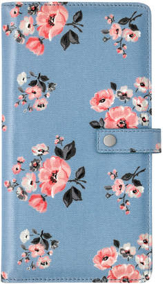 Cath Kidston Grove Bunch Travel Wallet With Detachable Purse