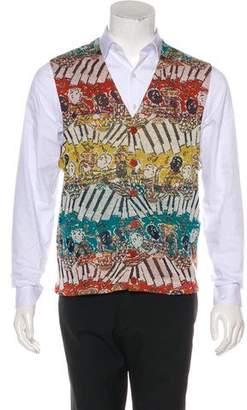Missoni Intarsia Knit Vest