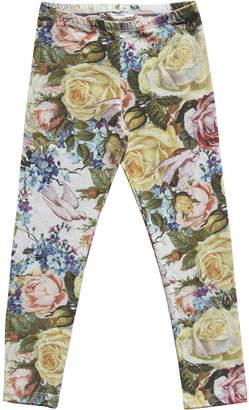 Paper Wings Organic Winter Rose Leggings