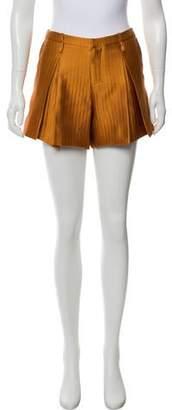 Maiyet Tweed Mini Shorts