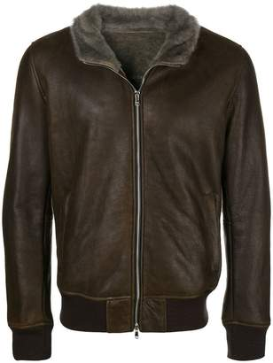 Barba bomber jacket