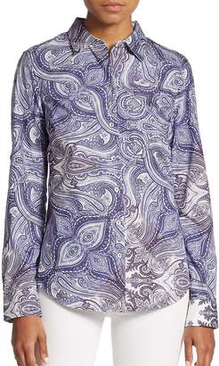 Robert Graham Women's Ariella Cotton Blouse