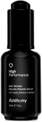 Anthony Logistics For Men High Performance Anti-Wrinkle Glycolic Peptide Serum, 1 oz