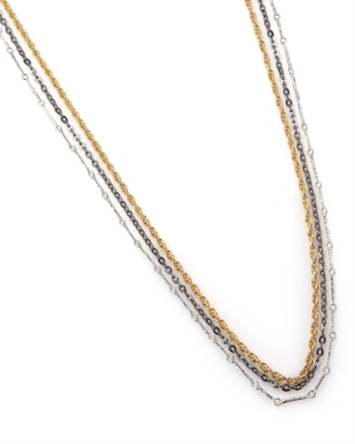 Tuleste Long Multi-Chain Necklace