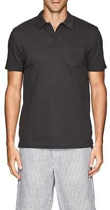 Sunspel Men's Riviera Cotton Polo Shirt - Charcoal