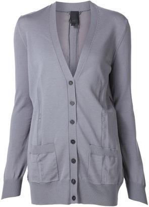 Vera Wang Habotai back cardigan $1,095 thestylecure.com