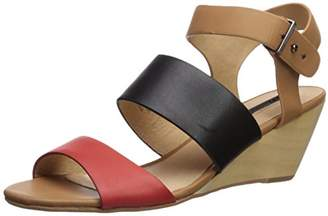 Matiko Women's Lisbeth Triple Band Wedge Sandal