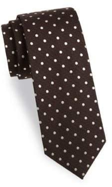 Tom Ford Dot-Print Silk Tie