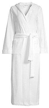 Hanro Women's Terry Long Hooded Robe