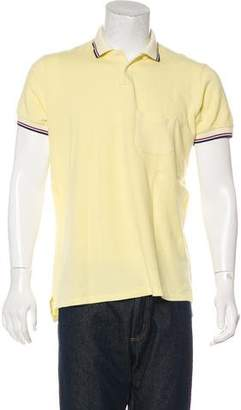 Balmain Short Sleeve Polo Shirt
