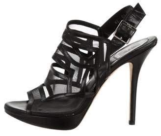 Christian Dior Mesh Slingback pumps