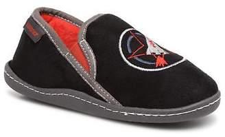 Isotoner Kids's Mocassin Slippers in Black